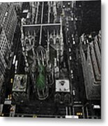 St. Patricks Cathedral Metal Print by Marcel Krasner