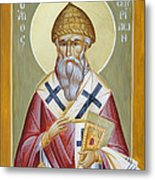 St Spyridon Metal Print by Julia Bridget Hayes