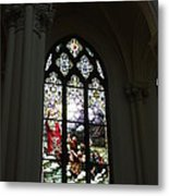 Stained Glass Metal Print by David Bearden