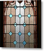 Stained Glass Lc 15 Metal Print by Thomas Woolworth