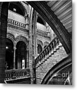 Stairs And Arches Metal Print by Martin Williams