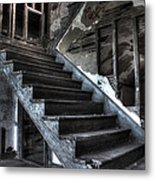 Stairway To Ruin Metal Print by Andrew Pacheco