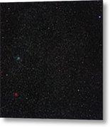 Star Cluster M35 Metal Print by Eckhard Slawik