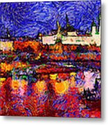 Starry Moscow Metal Print by Yury Malkov