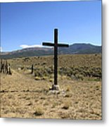 Stations Of The Cross  Metal Print by Ann Powell