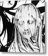Statue Metal Print by Simon Marsden