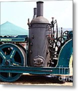 Steam Powered Roller 7d15116 Metal Print by Wingsdomain Art and Photography