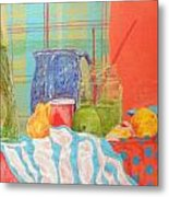 Still Life With Pears Metal Print by Ben Leary