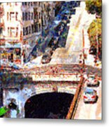 Stockton Street Tunnel San Francisco . 7d7499 Metal Print by Wingsdomain Art and Photography