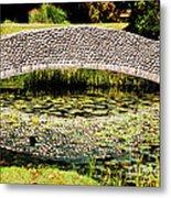 Stone Bridge Metal Print by HD Connelly