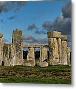 Stonehenge Metal Print by Heather Applegate