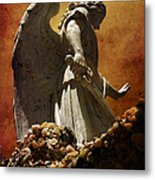 Stop In The Name Of God Metal Print by Susanne Van Hulst