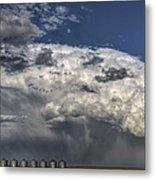 Storm Clouds Thunderhead Metal Print by Mark Duffy