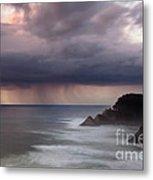 Storm Over Heceta Head  Metal Print by Keith Kapple