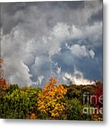 Storms Coming Metal Print by Ronald Lutz