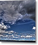 Stormy Clouds ... Metal Print by Juergen Weiss
