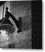 Streetlamp Metal Print by Eric Gendron