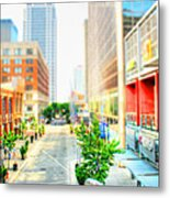 Street's Of Louisville Metal Print by Darren Fisher