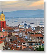 St.tropez At Sunset Metal Print by Elena Elisseeva