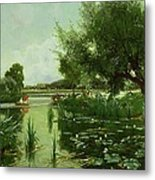 Summer - One Of A Set Of The Four Seasons Metal Print by Arthur Walker Redgate
