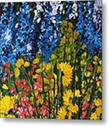 Summer Colours Metal Print by Shilpi Singh