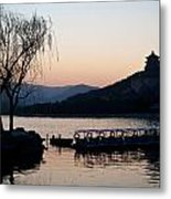 Summer Palace Evening Metal Print by Mike Reid