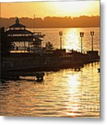 Sun Rising Metal Print by Suzanne Gaff