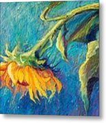 Sunflower Metal Print by Candy Mayer