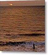 Sunrise At Jacksonville Metal Print by Joe Bonita