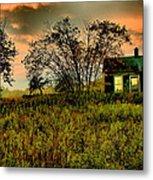 Sunrise On The Prairie Metal Print by Matthew Winn