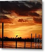 Sunset 1-1-12 Metal Print by Lynda Dawson-Youngclaus