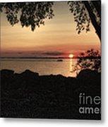 Sunset Cruise Metal Print by Pamela Baker
