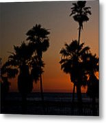 sunset in Califiornia Metal Print by Ralf Kaiser
