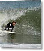 Surfing 398 Metal Print by Joyce StJames