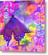 Swallowtail Metal Print by Judi Bagwell