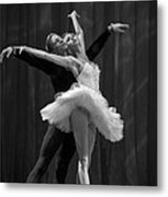 Swan Lake  White Adagio  Russia 2 Metal Print by Clare Bambers