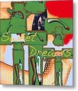 Sweet Dreams Jesus Metal Print by Ricky Sencion