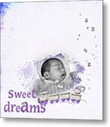 Sweet Dreams Metal Print by Joanne Kocwin