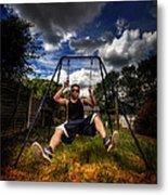 Swinger Metal Print by Yhun Suarez
