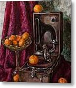 Tangerines Metal Print by Boris Filinov