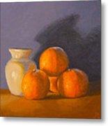 Tangerines Metal Print by Joe Bergholm