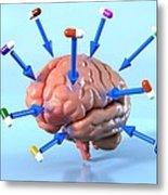 Targeted Psychological Drug Treatments Metal Print by David Mack