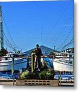 Tarpon Springs Waterfront Metal Print by Susanne Van Hulst