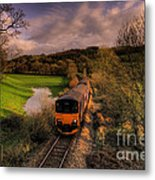 Taw Valley Metal Print by Rob Hawkins