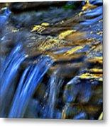 Taylor Waterfall Metal Print by David Clark