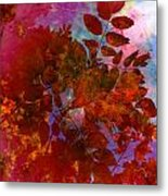Tears Of Leaf  Metal Print by Jerry Cordeiro