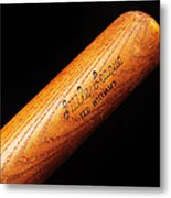Ted Williams Little League Baseball Bat Metal Print by Andee Design