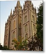 Temple Metal Print by Bruce Bley