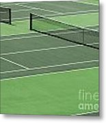 Tennis Court Metal Print by Blink Images