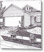 Teresa's House Metal Print by Michelle Welles
